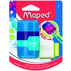 MAPED: Connect kétlyukú, tartályos hegyező és radír - többféle
