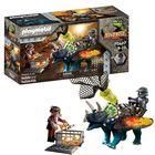 Playmobil: Triceraptos - Bătălia pentru piatra legendară - 70627