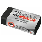 Faber-Castell: Forgácsmentes radír - fekete