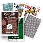Plasztik póker kártya - 55 lapos