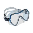 Escubia: Apnoe ochelari de scafandru din silicon - albastru