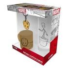 Marvel: Groot ajándékcsomag - kis pohár + kulcstartó + mini bögre