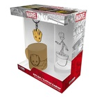 Marvel: Groot set cadou - pahar, breloc, mini-cană