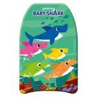 Baby Shark: Úszódeszka 42 x 32 x 3,5 cm - zöld