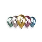 Set de 5 baloane în culori metalice - 33 cm