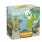 Wader: Baby Blocks Dínó építőkockák - Triceratops