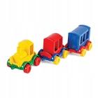 Wader: Kid Cars trenulețe - 3 piese