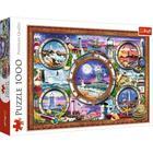 Trefl: Faruri maritime - - puzzle cu 1000 piese