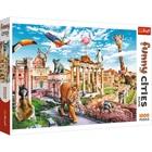 Trefl: Róma vadállatokkal - 1000 darabos puzzle