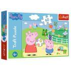 Trefl: Peppa Pig Distracție veselă - puzzle cu 60 piese