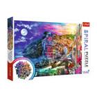 Trefl: Varázslatos öböl spirál puzzle - 1040 darabos