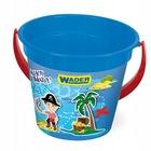 Wader: Tengeri kalózok homokozó vödör - kék 3,4l