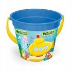 Wader: Găleată pentru nisip cu model submarin - albastru
