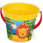 Wader: Găleată pentru nisip cu model animale fericite - galben
