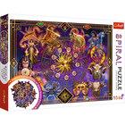 Trefl: Csillagjegyek spirál puzzle - 1040 darabos