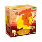 Wader: Baby Blocks Safari cuburi de construcții - leu