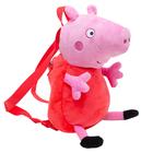 Peppa Pig: Rucsac de pluș - Peppa