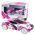 Silverlit: Mașină de curse Exost Lightening Amazone 1:14 - roz-alb