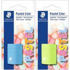 Staedtler: Pastel Line 1 lyukú műanyag hegyező, fiús - többféle