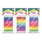 Szivárványhegyű és mintájú színes ceruza készlet, 8 db-os - többféle