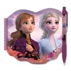 Frozen 2: Caiet notițe cu design Frozen și pix