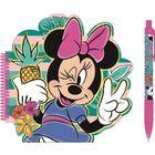 Minnie Mouse: Caiet notițe cu design Minnie și pix