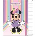 Minnie Mouse: Caiet notițe cu glitter