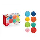 Set de 8 mingi texturate pentru dezvoltare senzorială