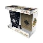 Harry Potter: Pachet cadou cu pahar XXL, insignă și caiet notițe