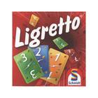Ligretto joc de cărți cu instrucțiuni în lb. maghiară - pachet roșu