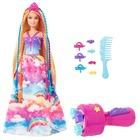Barbie Dreamtopia: Păpușă prințesă cu împletituri fabuloase
