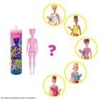 Barbie: Color Reveal Aventuri de vară! - păpușă Barbie surpriză de roz marmorat