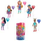 Barbie: Chelsea Color Reveal - Păpușă surpriză cu accesorii - seria Party