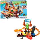 Hot Wheels City: Tomboló gorilla játékszett