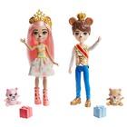 Royal Enchantimals: Păpuși regale Braylee Bear și Brannon Bear