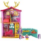 Royal Enchantimals: Căsuța Cerb cu păpușa Danessa Deer și figurina Sprint