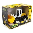 Wader: Tech Truck Încărcător frontal din plastic - 27 cm