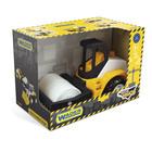 Wader: Tech Truck Cilindru compactor din plastic - 24 cm