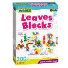 Wader: Leaves Blocks elemente de construcție - 200 buc.