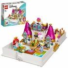 LEGO Disney Princess: Aventura lui Ariel, Belle, Cenușăreasa și Tiana din cartea de povești - 43193