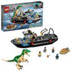 LEGO Jurassic World: Evadarea cu barca a dinozaurului Baryonyx - 76942