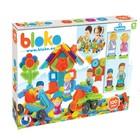 Bloko: blocuri de construcție cu țepi, cu 4 figurine - 100 buc.