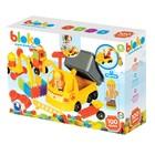 Bloko: blocuri de construcție cu țepi, cu autobasculantă și figurină - 100 buc.