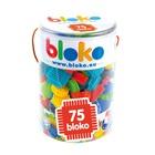 Bloko: blocuri de construcție cu țepi - 75 buc.