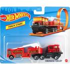 Hot Wheels Track Stars: Firehouse Fueler tűzoltó autó
