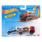 Hot Wheels Track Stars: Scania Rally Truck teherautó