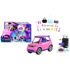 Barbie: Big City, Big Dreams - Set de joacă Mașină care poate transformată în scenă