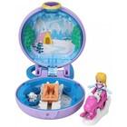 Polly Pocket: Mini-set mov deschis - Aventura de iarnă a lui Polly