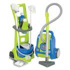 Écoiffier: Set de curățenie - cărucior de curățenie și aspirator