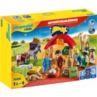 Playmobil: Adventi naptár - Karácsonyi jászol 70259